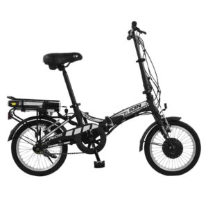 Ion Unisex Alloy Folding Electric Bike by Ride