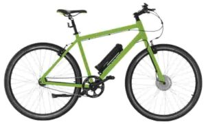 AEROBIKE X-Ride Electric Men's Hybrid eBike