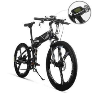 RICH BIT Electric Folding Mountain Bike
