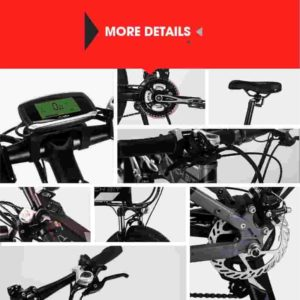 RICH BIT Electric Folding Mountain Bike Review