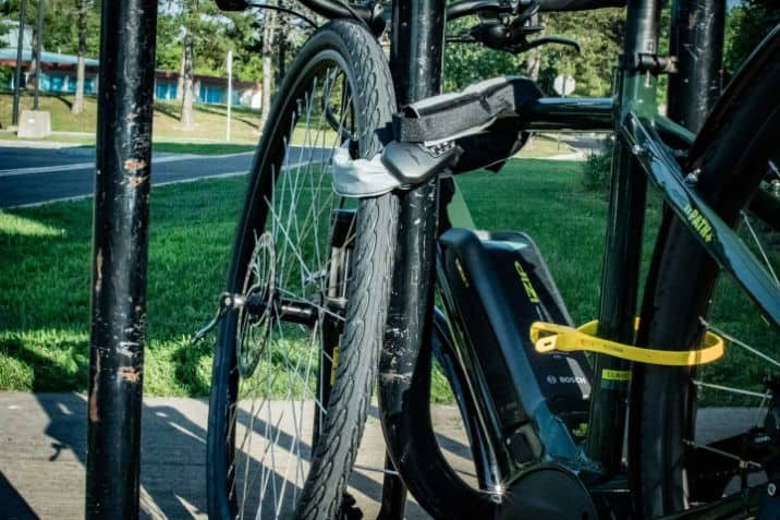 Store Your E-Bike Securely At Work